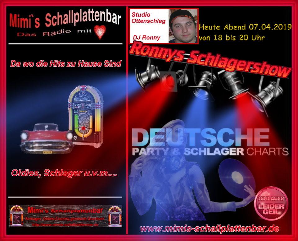 Flyer_Ronnys_Schlagershow_070419