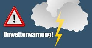Unwetterwarnzeichen